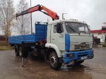 КАМАЗ 65117 Palfinger 15500