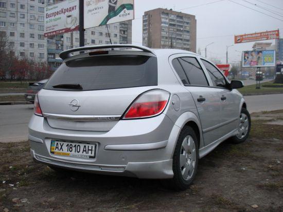 """TUNING Opel ASTRA  """"Sport """" ."""