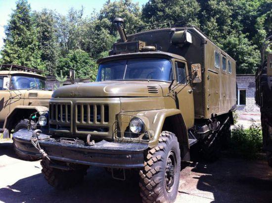 Зил 131 кунг с ангарного военного хранения